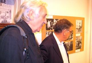Ahmed Bedjaoui et Denis Martinez à Tlemcen