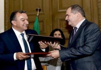 Deux accords de coop ration ont t sign s dimanche for Chambre algerienne de commerce